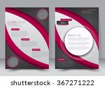 abstract flyer design... | Shutterstock .eps vector #367271222