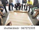 team teamwork meeting start up... | Shutterstock . vector #367272335
