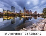 austin downtown skyline by the... | Shutterstock . vector #367286642