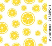 lemon pattern | Shutterstock .eps vector #367289246