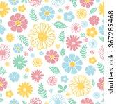pattern flowers | Shutterstock .eps vector #367289468