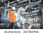 engineer working in a thermal... | Shutterstock . vector #367303946