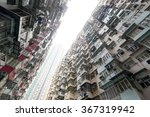 very crowded but colorful... | Shutterstock . vector #367319942