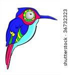 vector illustration of blue... | Shutterstock .eps vector #36732323