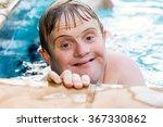 close up face shot of... | Shutterstock . vector #367330862