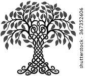 vector ornament  decorative... | Shutterstock .eps vector #367352606