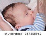 breastfeeding. mother... | Shutterstock . vector #367365962