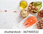 Selection Of Healthy Fat...