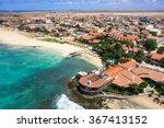 aerial view of santa maria... | Shutterstock . vector #367413152
