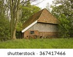 old dutch farm house | Shutterstock . vector #367417466