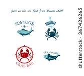 sea food | Shutterstock .eps vector #367426265