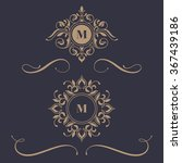 Floral Monograms And Borders ...