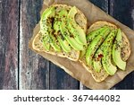 Open Avocado Sandwiches With...