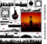 banner for music concerts and... | Shutterstock .eps vector #367460456