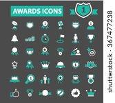 award trophy  achievement ... | Shutterstock .eps vector #367477238