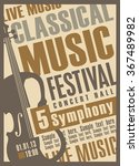 Poster For A Concert Of...