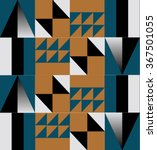 abstract  geometric background  ... | Shutterstock .eps vector #367501055