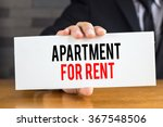 apartment for rent  message on... | Shutterstock . vector #367548506