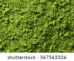 Background Of Green Powder...