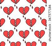seamless doodle pattern. broken ...   Shutterstock .eps vector #367577186