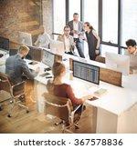 colleagues creative design... | Shutterstock . vector #367578836