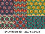 flower pattern   Shutterstock .eps vector #367583435