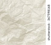 white crumpled paper texture or ... | Shutterstock . vector #367598168