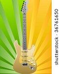 urban guitar   Shutterstock .eps vector #36761650
