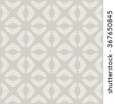 seamless damask pattern. vector ... | Shutterstock .eps vector #367650845
