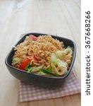 spicy noodle salad   instant... | Shutterstock . vector #367668266