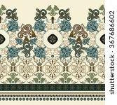 striped seamless pattern.... | Shutterstock . vector #367686602