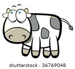 cartoon cow | Shutterstock .eps vector #36769048