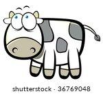 cartoon cow | Shutterstock .eps vector #36769048