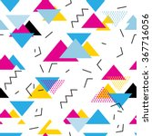 seamless geometric pattern in...   Shutterstock .eps vector #367716056