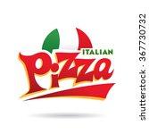 italian pizza logo | Shutterstock .eps vector #367730732