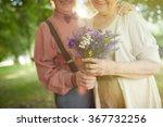 bunch of summer flowers | Shutterstock . vector #367732256
