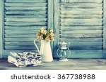 rustic kitchen still life ... | Shutterstock . vector #367738988