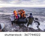 lesvos island  greece   29...   Shutterstock . vector #367744022
