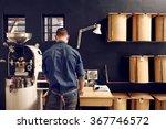 man working in his modern... | Shutterstock . vector #367746572
