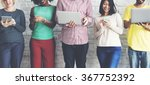 digital connection technology... | Shutterstock . vector #367752392