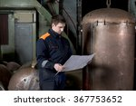 young engineer for ship repair