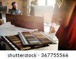 design team busy working...   Shutterstock . vector #367755566