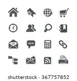 website icons    utility series | Shutterstock .eps vector #367757852