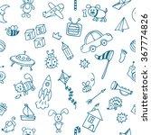 background for little boys.... | Shutterstock .eps vector #367774826