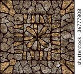stone pattern texture... | Shutterstock . vector #36777808
