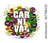 carnival vector illustration.   Shutterstock .eps vector #367788152
