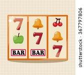 casino slot machine theme... | Shutterstock .eps vector #367797806
