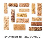granola bars with cereals and... | Shutterstock . vector #367809572
