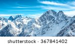 panorama of white mountains in... | Shutterstock . vector #367841402