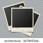collection of vector blank... | Shutterstock .eps vector #367845266